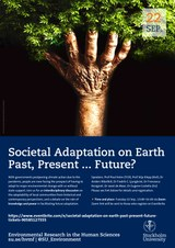 Conference Poster Societal Adaptation on Earth SU