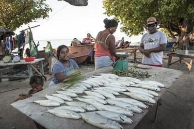 Fischverkauf