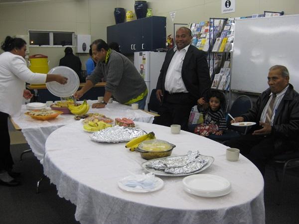 Kiribati Community Feast