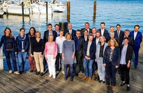 Gruppenbild der ProfessorInnen