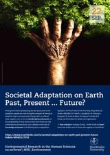 Conference Poster Societal Adaptation on Earth SU