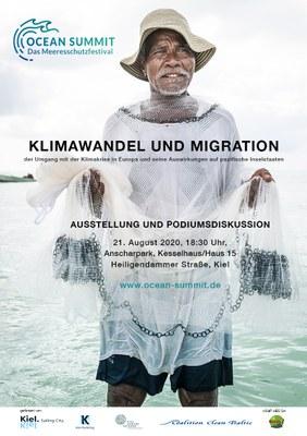 Poster Klimawandel und Migration