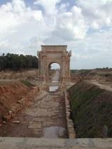 Ancient Roman town Leptis Magna