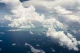 Vogelperspektive Kiribati
